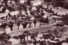 Luchtfoto vanaf ongeveer de Beatrixstraat
